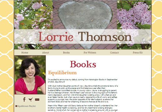 Website Design For Authors & Writers | Author Website Design ...